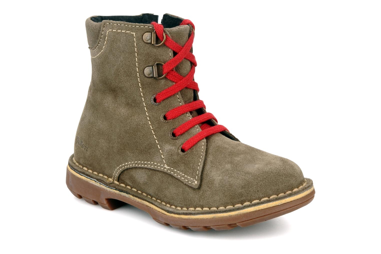 Boots en enkellaarsjes Kickers Kiosk Bruin detail