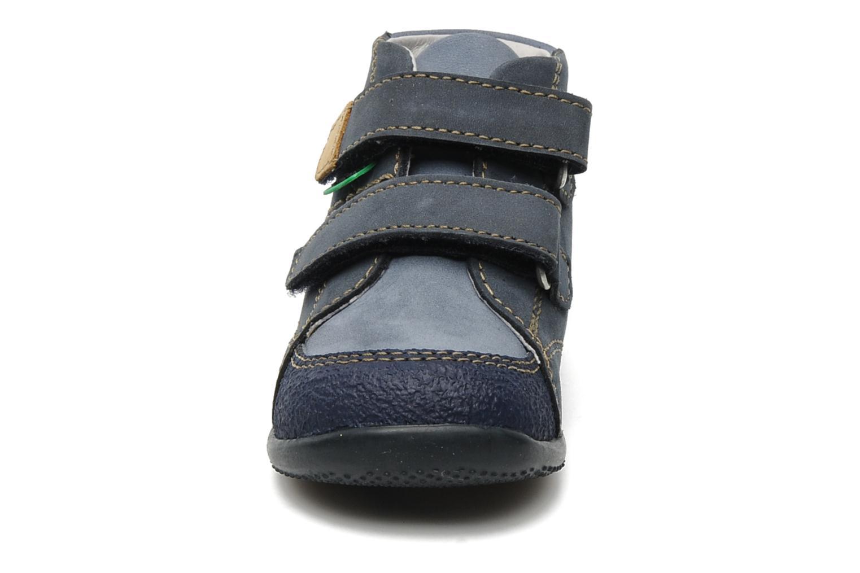 Schoenen met klitteband Kickers Boogy Blauw model