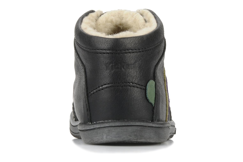 Bottines et boots Kickers Tao Noir vue droite