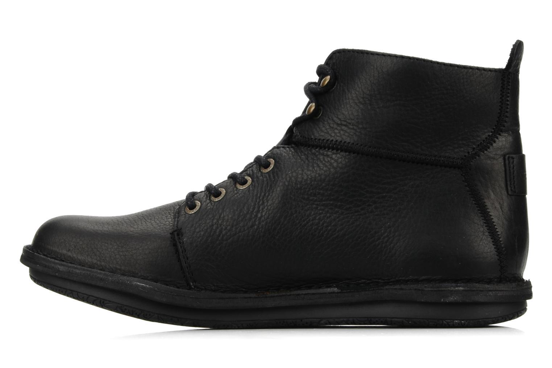 Bottines et boots Kickers Picture Noir vue face