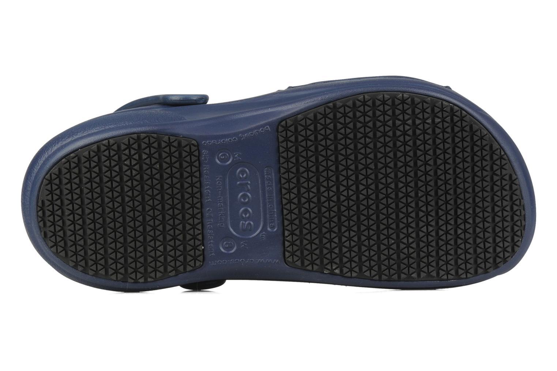 Wedges Crocs Bistro w Blauw boven