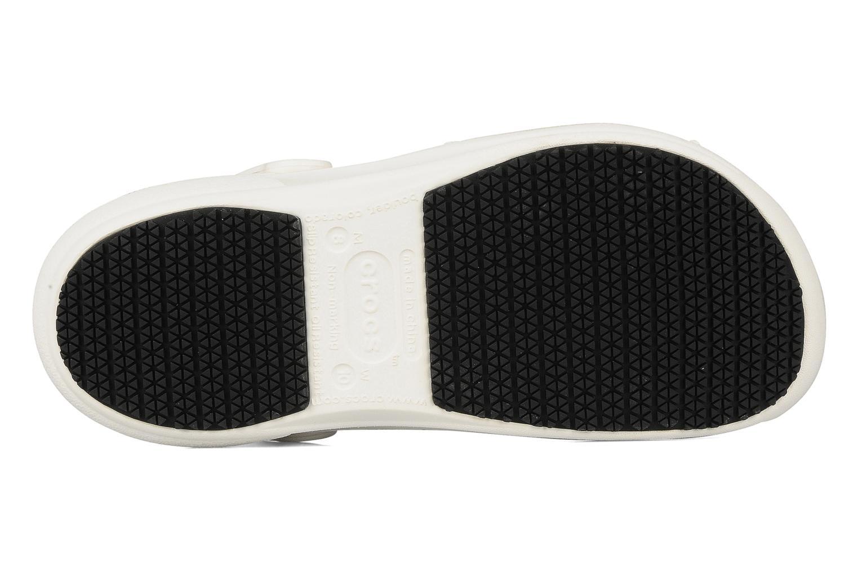 Sandales et nu-pieds Crocs Bistro m Blanc vue haut