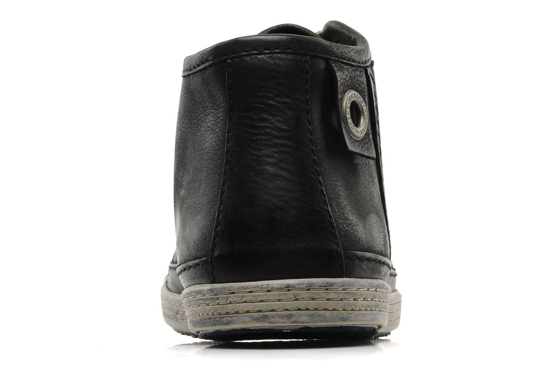 Baskets Kickers Amabilis Noir vue droite