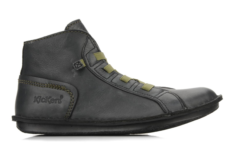 Boots en enkellaarsjes Kickers Watcha Zwart achterkant