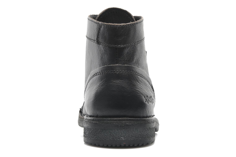 Stiefeletten & Boots Kickers Banko schwarz ansicht von rechts