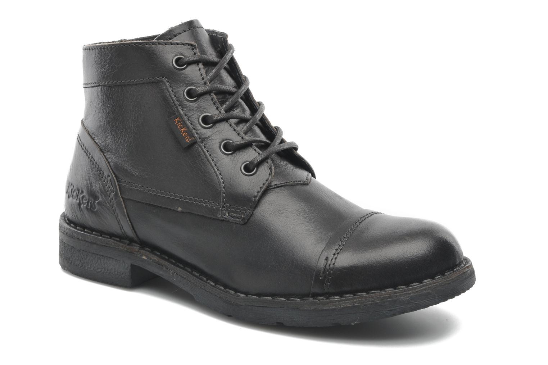 Stiefeletten & Boots Kickers Banko schwarz detaillierte ansicht/modell