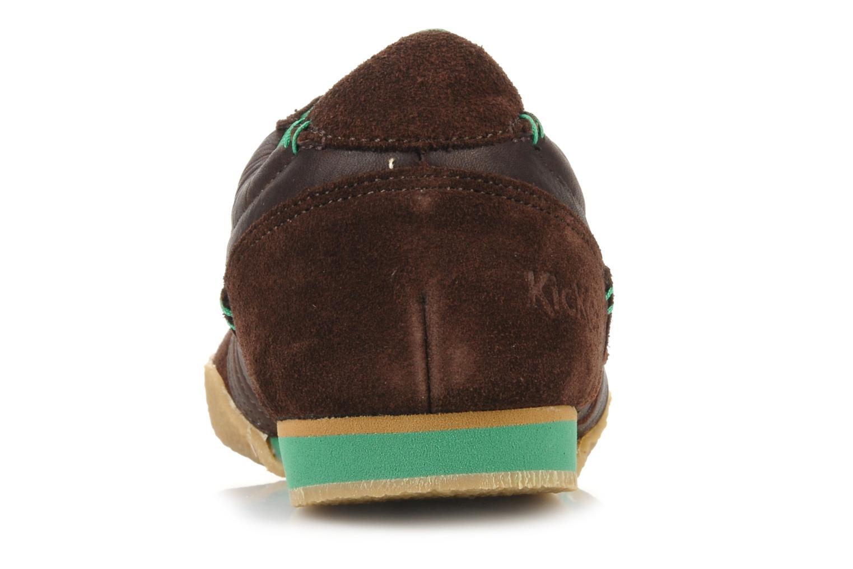 Sneaker Kickers Optimum braun ansicht von rechts