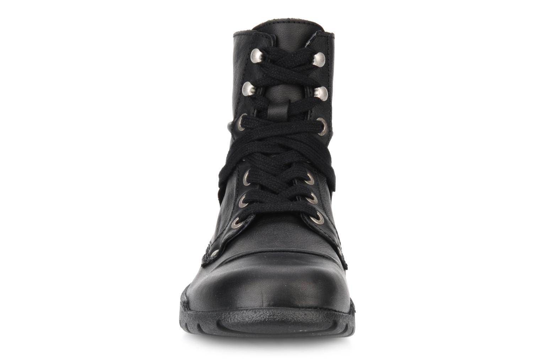 Bottines et boots Kickers Docklands Noir vue portées chaussures