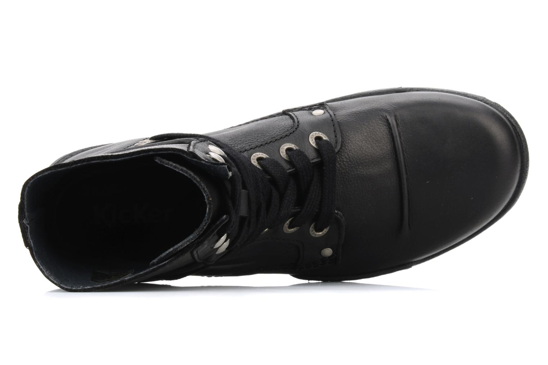 Bottines et boots Kickers Docklands Noir vue gauche