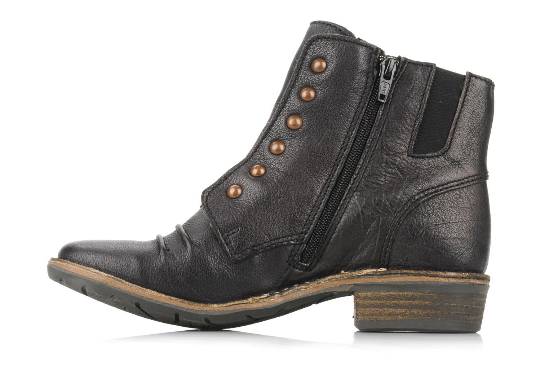 Bottines et boots Kickers Georges Noir vue face