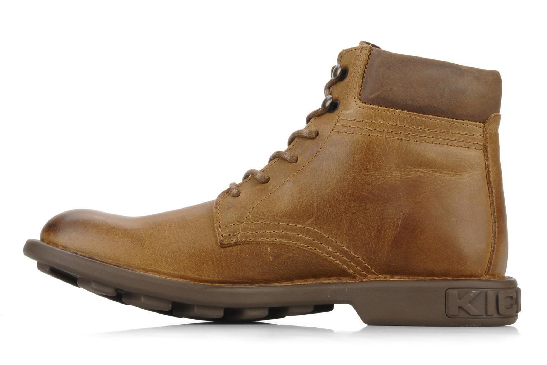 Bottines et boots Kickers Koloc Marron vue face