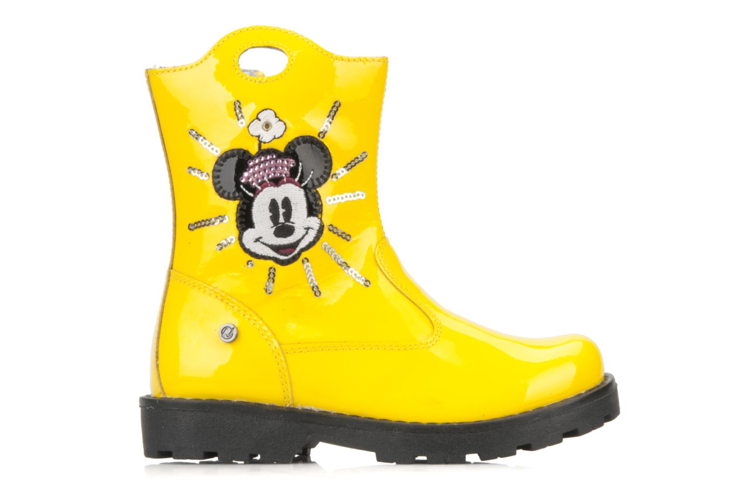 Ankle boots Disney by Naturino Disney 758 Yellow back view