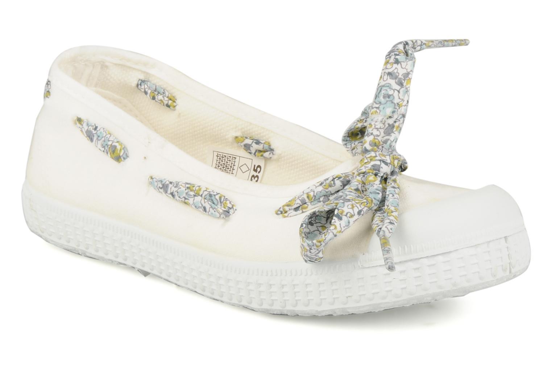 Ballerinaer chipie bis Rumba flolace Hvid detaljeret billede af skoene