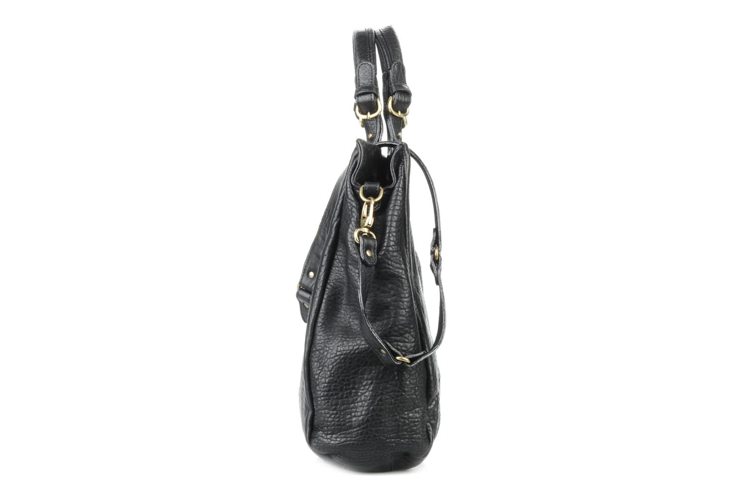 Handbags Abaco Slimy Black view from the right
