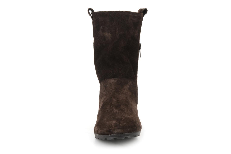 Bottines et boots Acebo's Luigi Marron vue portées chaussures