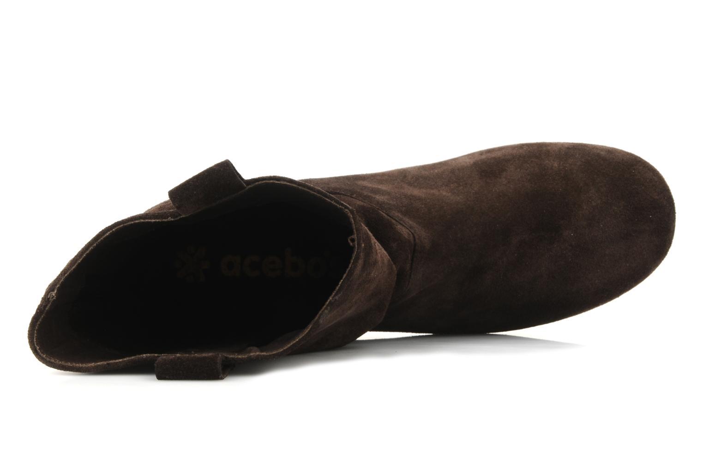 Bottines et boots Acebo's Luigi Marron vue gauche