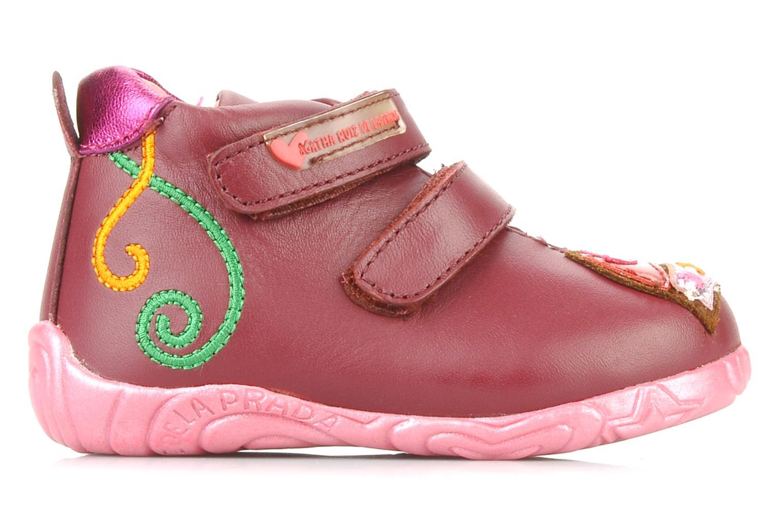 Chaussures à scratch Agatha Ruiz de la Prada Arone Rose vue derrière