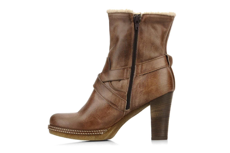Bottines et boots Coco et abricot Pyxide Marron vue face
