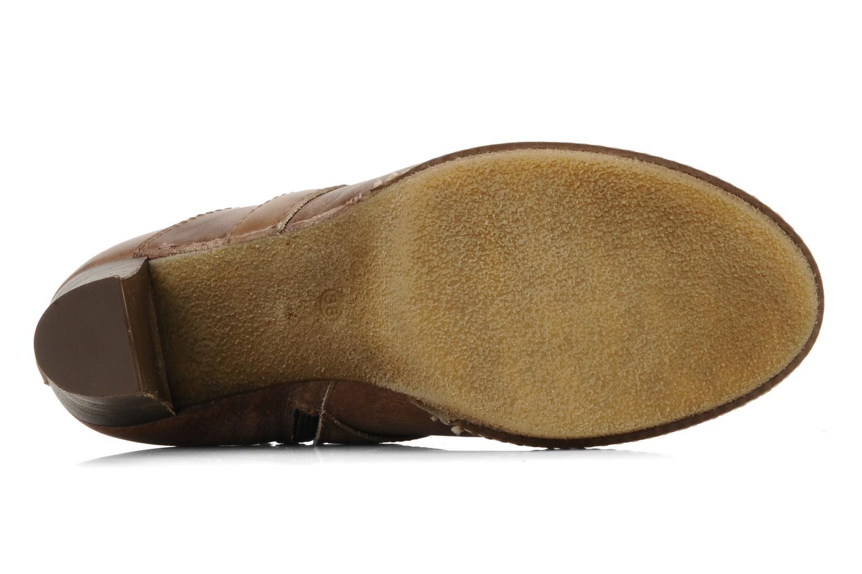 Bottines et boots Coco et abricot Pyxide Marron vue haut
