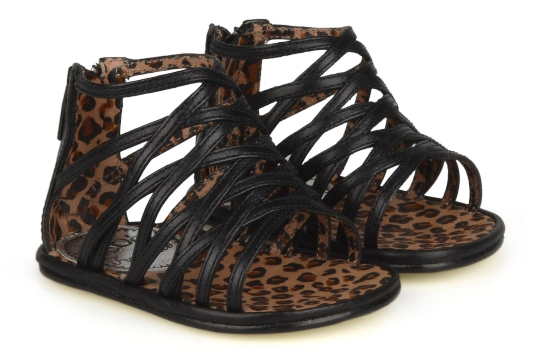Sandales et nu-pieds Free Lance BB TWILY CAGE SANDAL Noir vue 3/4