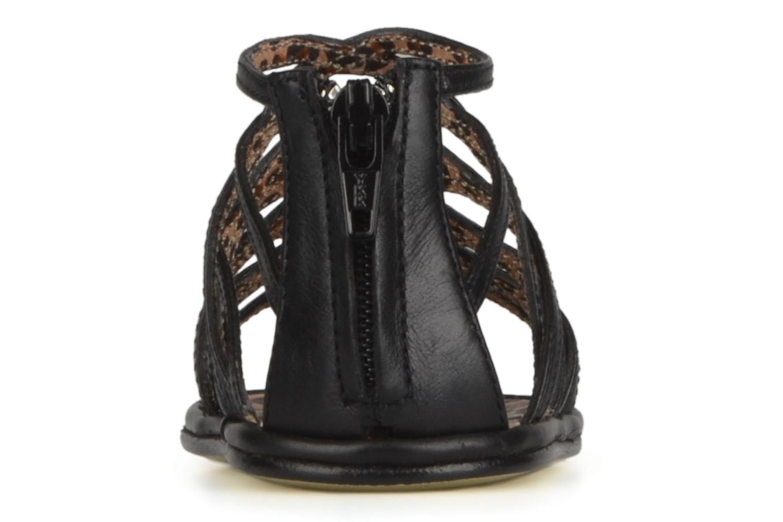 Sandales et nu-pieds Free Lance BB TWILY CAGE SANDAL Noir vue droite