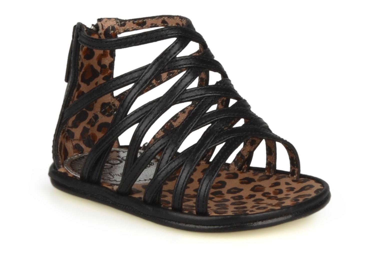 Sandales et nu-pieds Free Lance BB TWILY CAGE SANDAL Noir vue détail/paire
