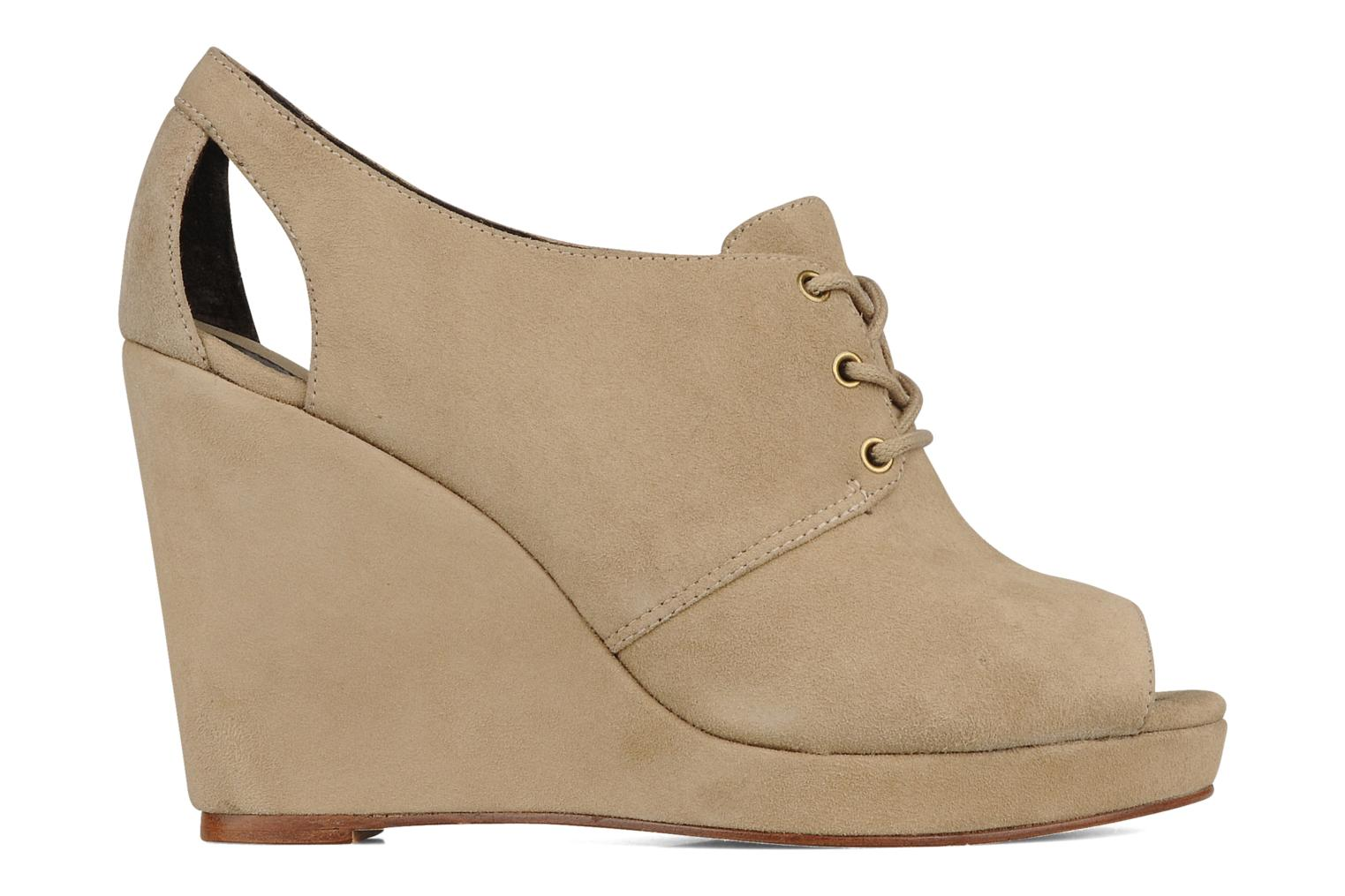 Wedge derby Beige