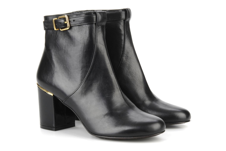 Bottines et boots Clergerie Hut Noir vue 3/4