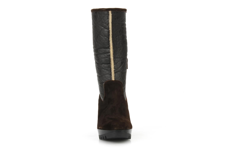 Bottines et boots Espace Caida Marron vue portées chaussures