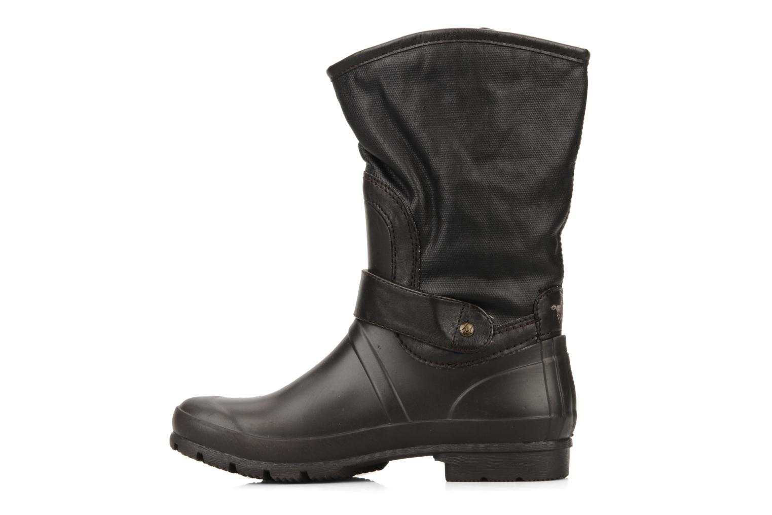 Ankle boots Mustang shoes Enrica Brown front view
