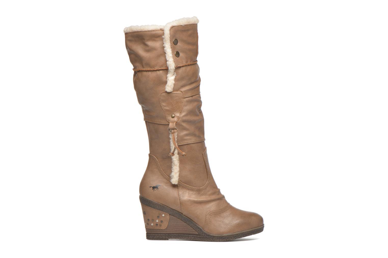 Stiefel Mustang shoes Jessia beige ansicht von hinten