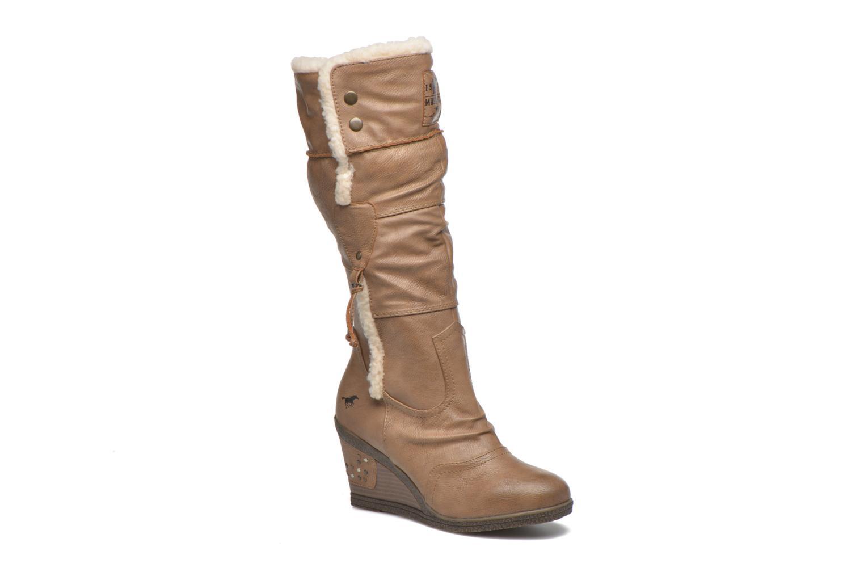 Stiefel Mustang shoes Jessia beige detaillierte ansicht/modell