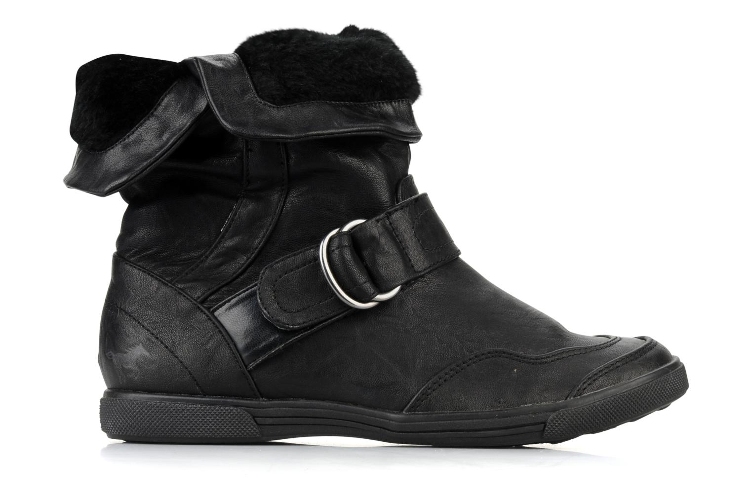 Ankle boots Mustang shoes Kevia Black back view