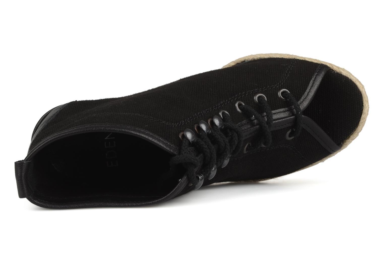 Bottines et boots Eden Tolipa Noir vue gauche