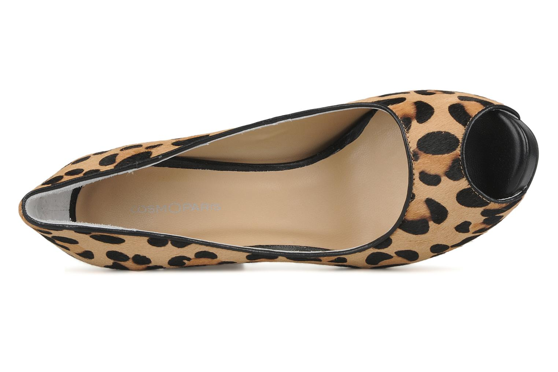 Zapatos de tacón COSMOPARIS Gabia Multicolor vista lateral izquierda