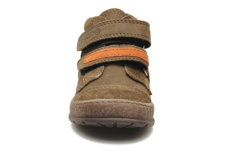 Chaussures à scratch Mod8 Rado Marron vue portées chaussures