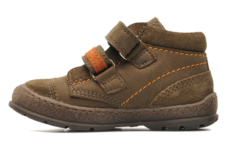Zapatos con velcro Mod8 Rado Marrón vista de frente