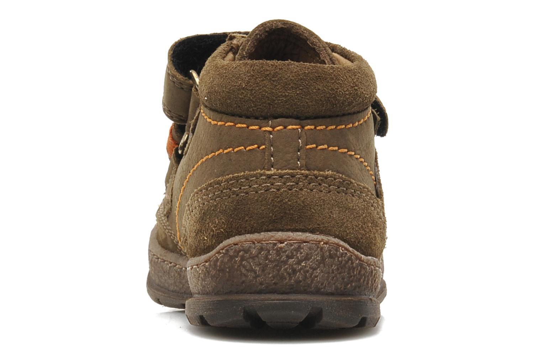 Chaussures à scratch Mod8 Rado Marron vue droite