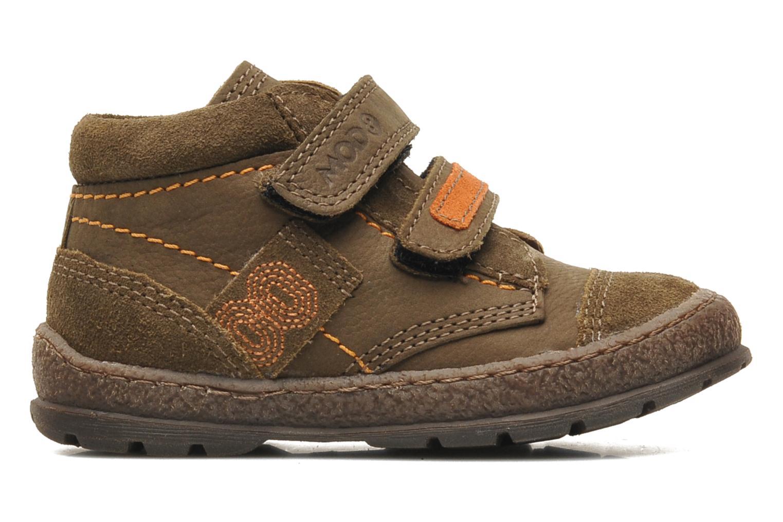 Chaussures à scratch Mod8 Rado Marron vue derrière