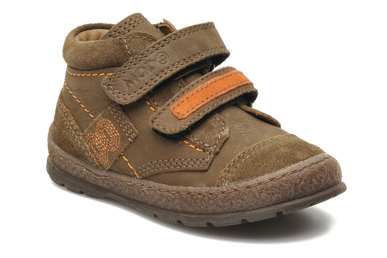 Chaussures à scratch Mod8 Rado Marron vue détail/paire