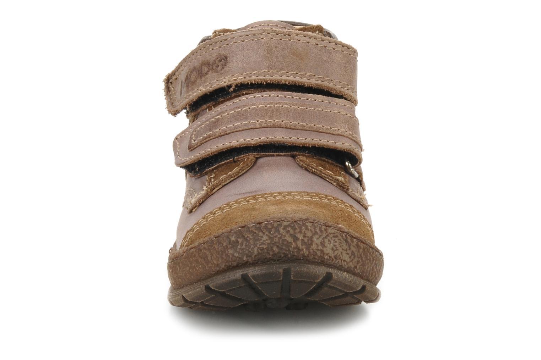 Velcro shoes Mod8 Rado Brown model view
