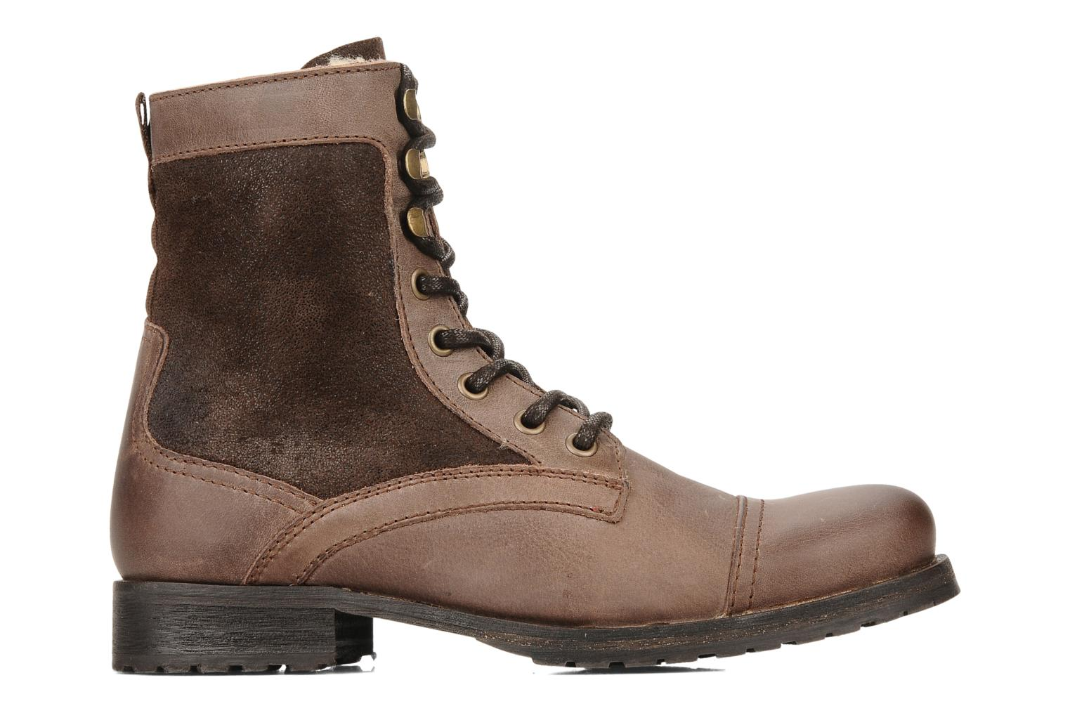 Ankle boots Buffalo Chuppa Brown back view