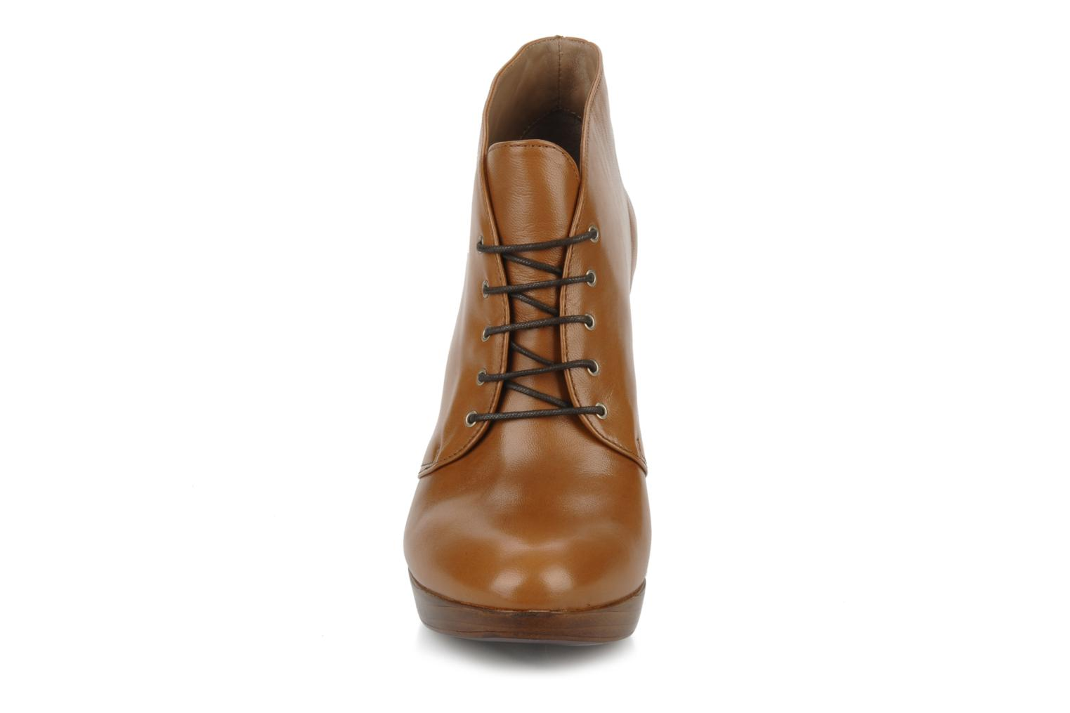 Ankle boots Geox Donna keira c Brown model view