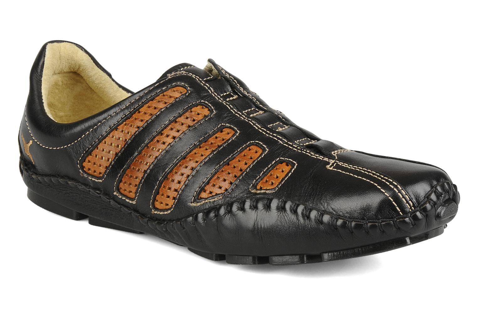 Trainers Pikolinos Fuencarral 6183 Black detailed view/ Pair view