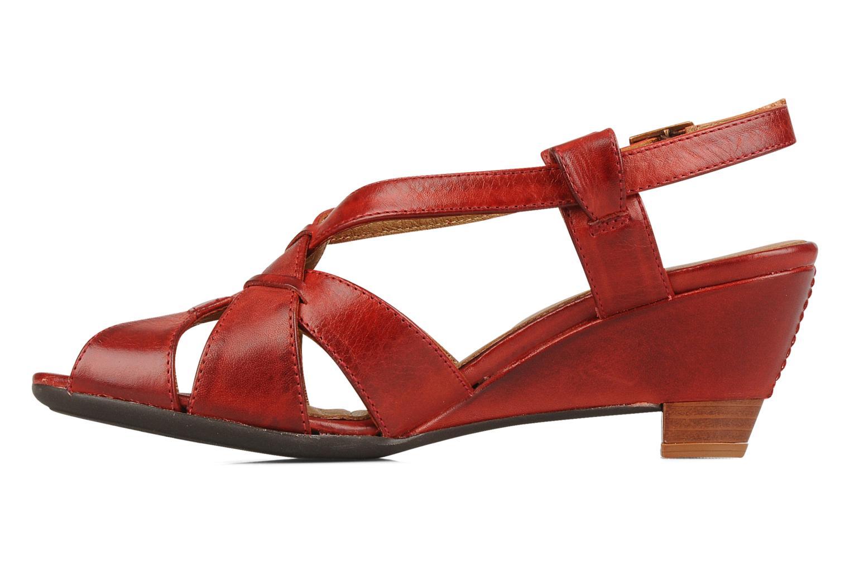 Sandales et nu-pieds Pikolinos Niza 7141 Bordeaux vue face