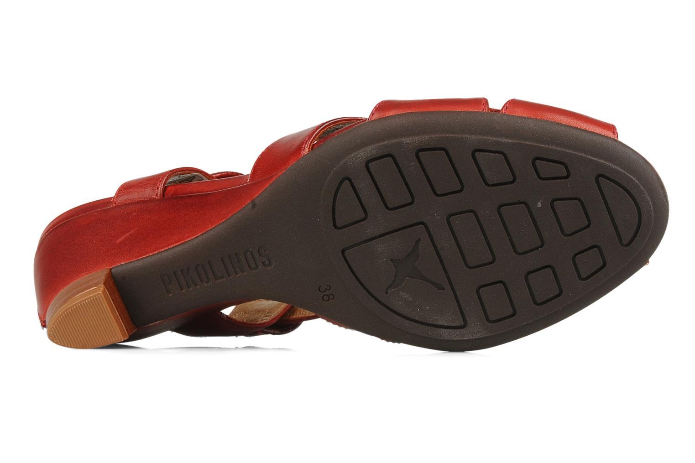 Sandales et nu-pieds Pikolinos Niza 7141 Bordeaux vue haut