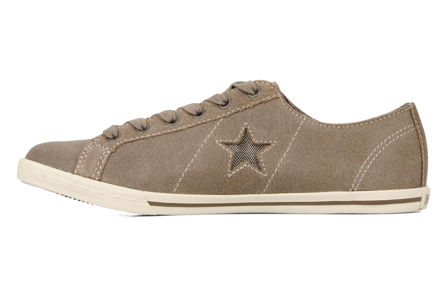 Trainers Converse One star low profile suede ox w Beige front view