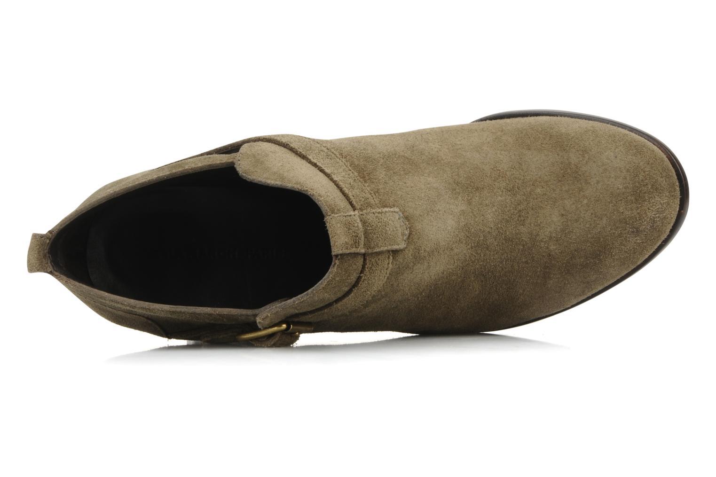 Stiefeletten & Boots Tila March Booty strap suede grün ansicht von links