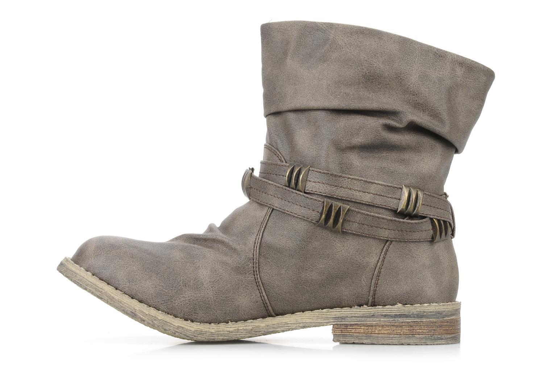 Bottines et boots Blowfish Texas Beige vue face