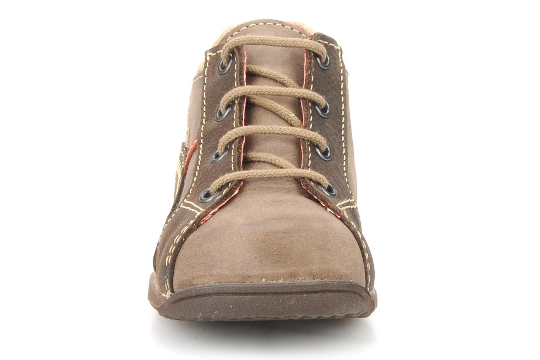 Bottines et boots Little Mary Initial Marron vue portées chaussures